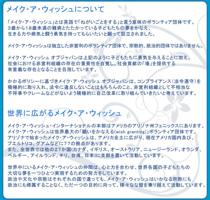 活動内容について/MAWJ